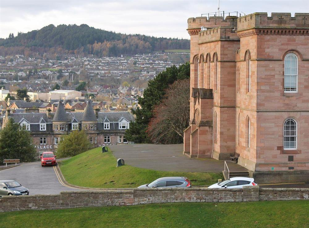 Lovely view past inverness castle at Apartment 4,