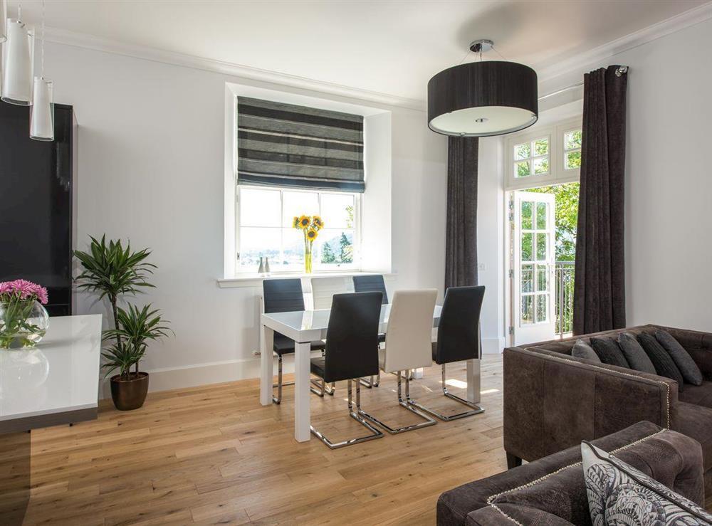Spacious open-plan design at Apartment 4,