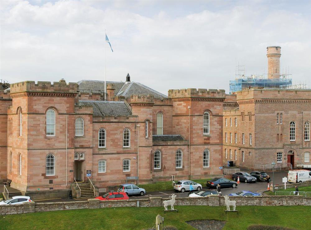 Wonderful view of Inverness castle at Apartment 4,