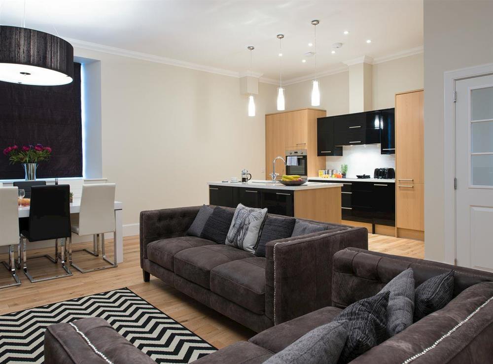 Contemporary open-plan design at Apartment 6,