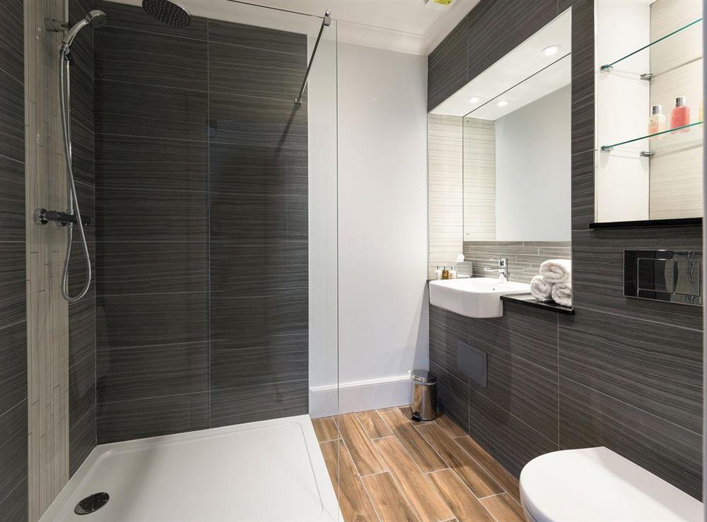 En-suite shower room at Apartment 6,