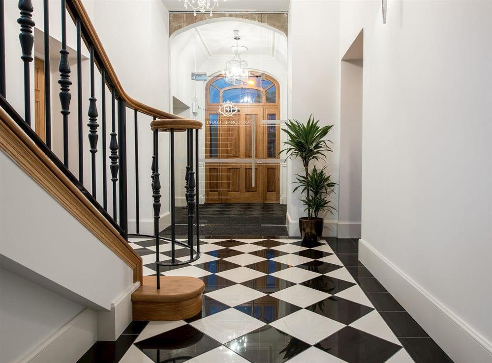 Stylish entrance hall at Apartment 6,