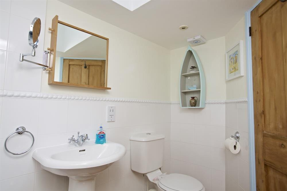 Family bathroom at Armada Cottage in , Dartmouth