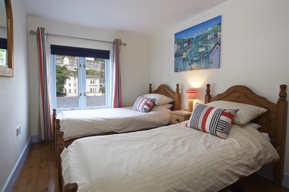 Twin bedroom at Armada Cottage in , Dartmouth
