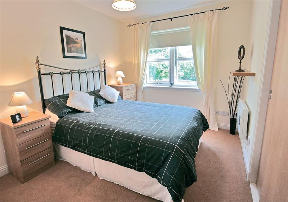 Arran View double bedroom at Arran View in Prestwick, Ayrshire
