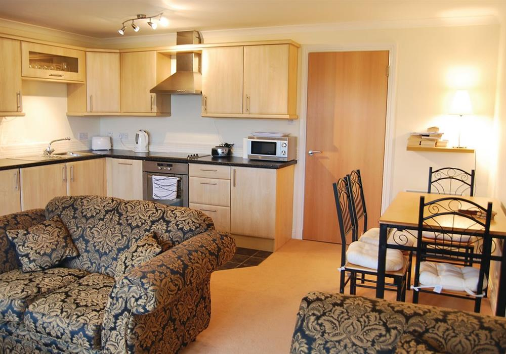 Arran View sitting room at Arran View in Prestwick, Ayrshire