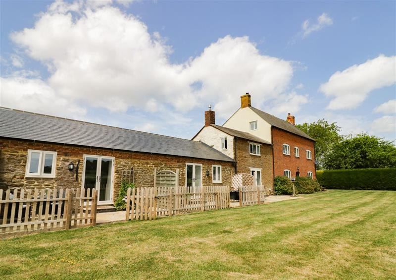 The setting at Ash Barn, Catesby