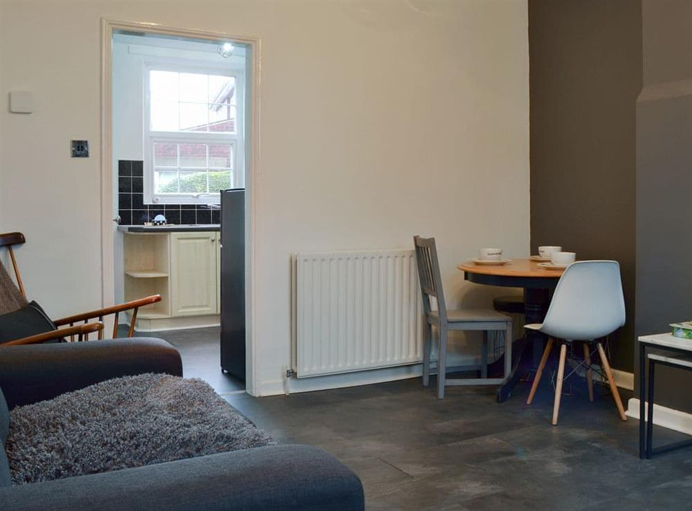 Living room/dining room at Ash Cottage in Deepcar, near Stocksbridge, South Yorkshire
