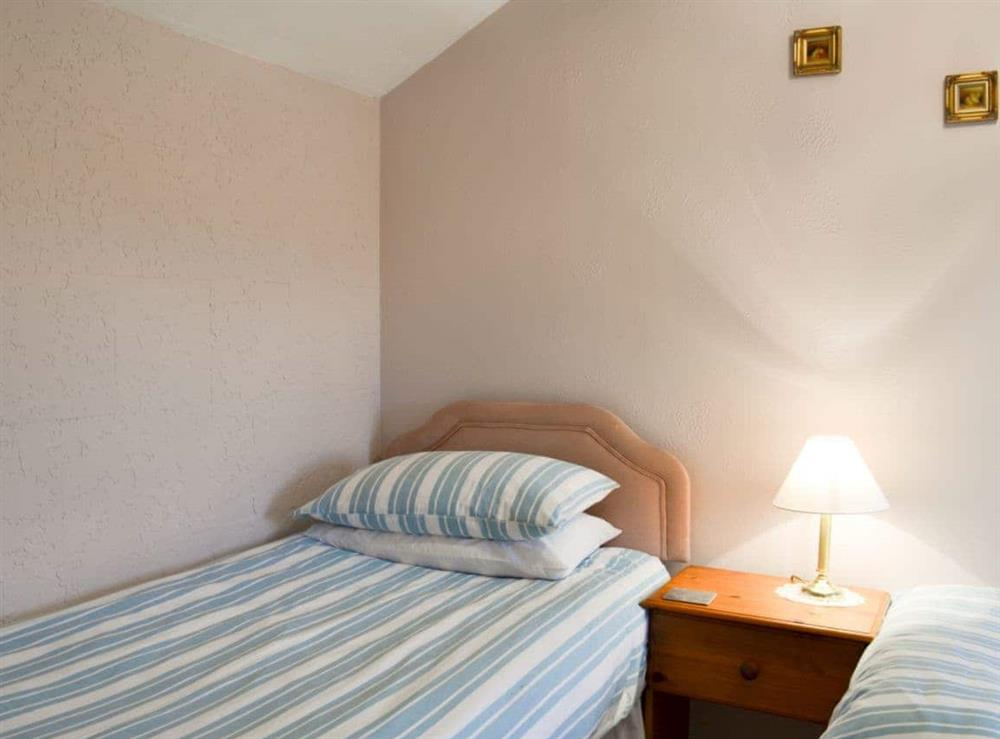 Twin bedroom at Ash Cottage in Oscroft, near Chester, Cheshire