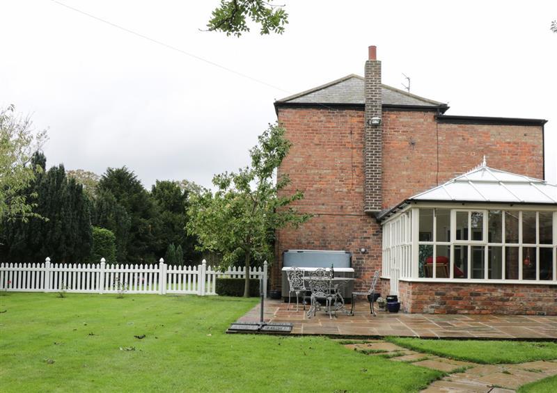 Enjoy the garden at Ash Tree Lodge, Burton Pidsea