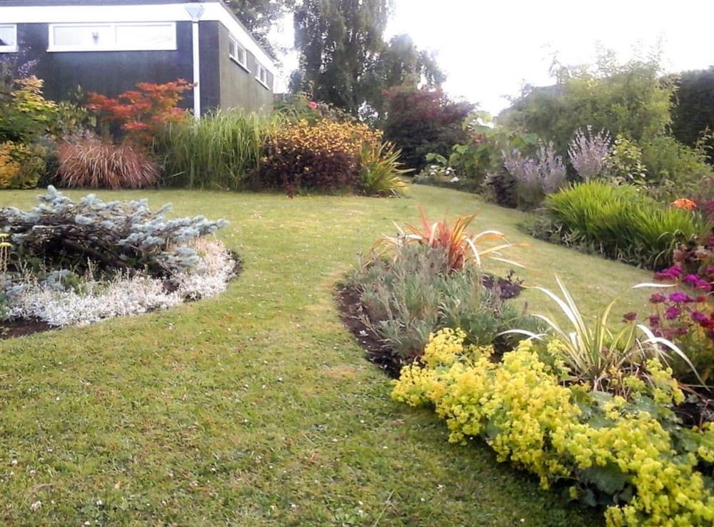 Garden at Ashlea in Skegby, near Mansfield, Nottinghamshire