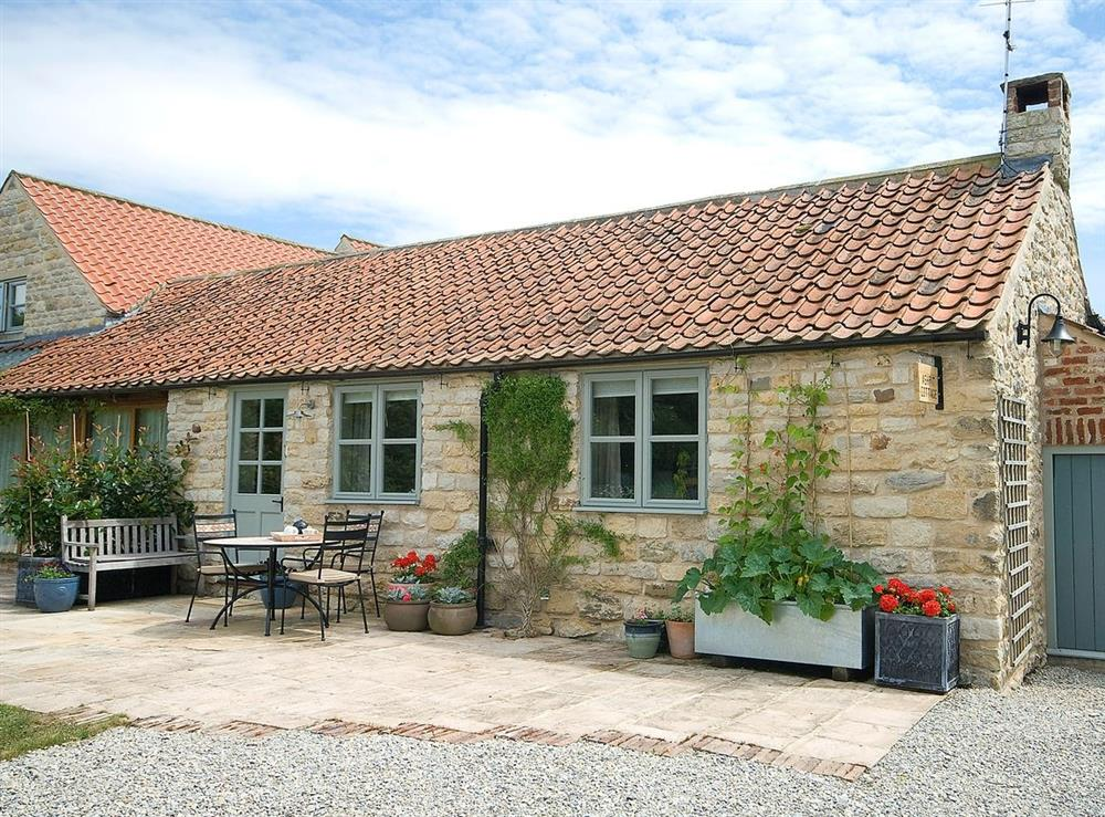 Exterior at Ashpit Cottage in Little Barugh, near Pickering, N. Yorks., North Yorkshire