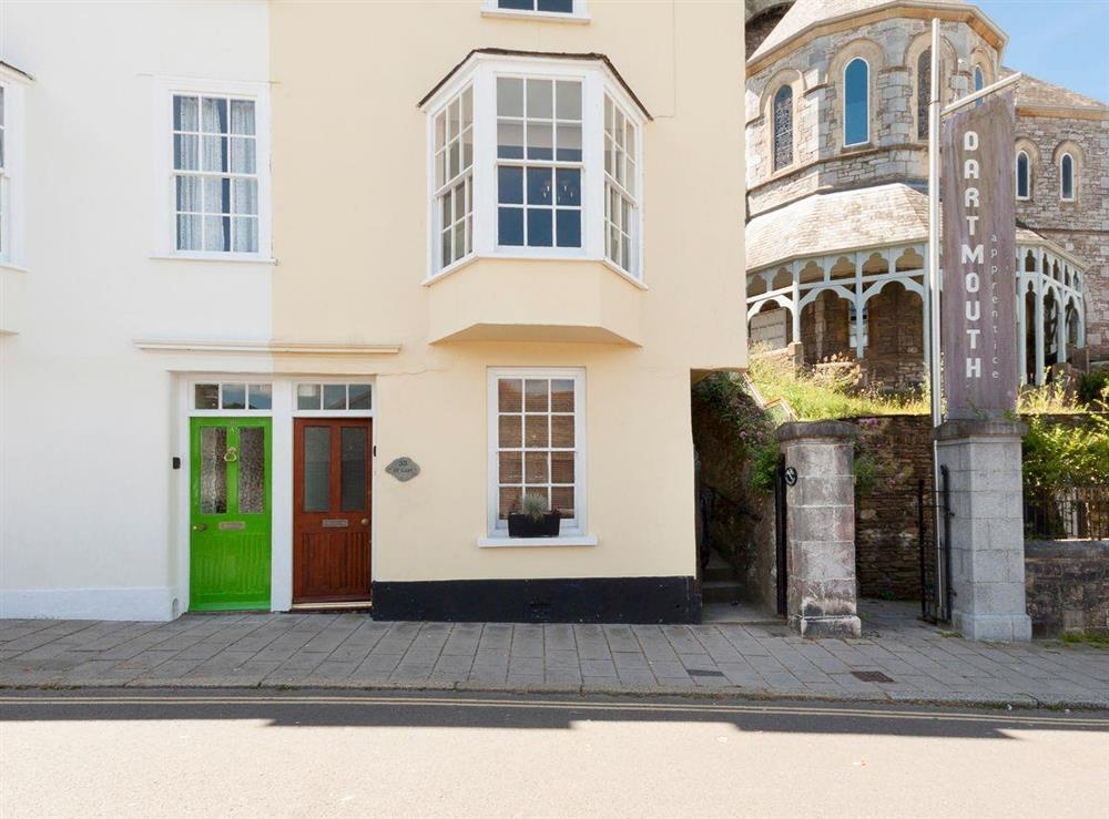 Character four storey Grade II listed town house at At Last in Dartmouth, Devon