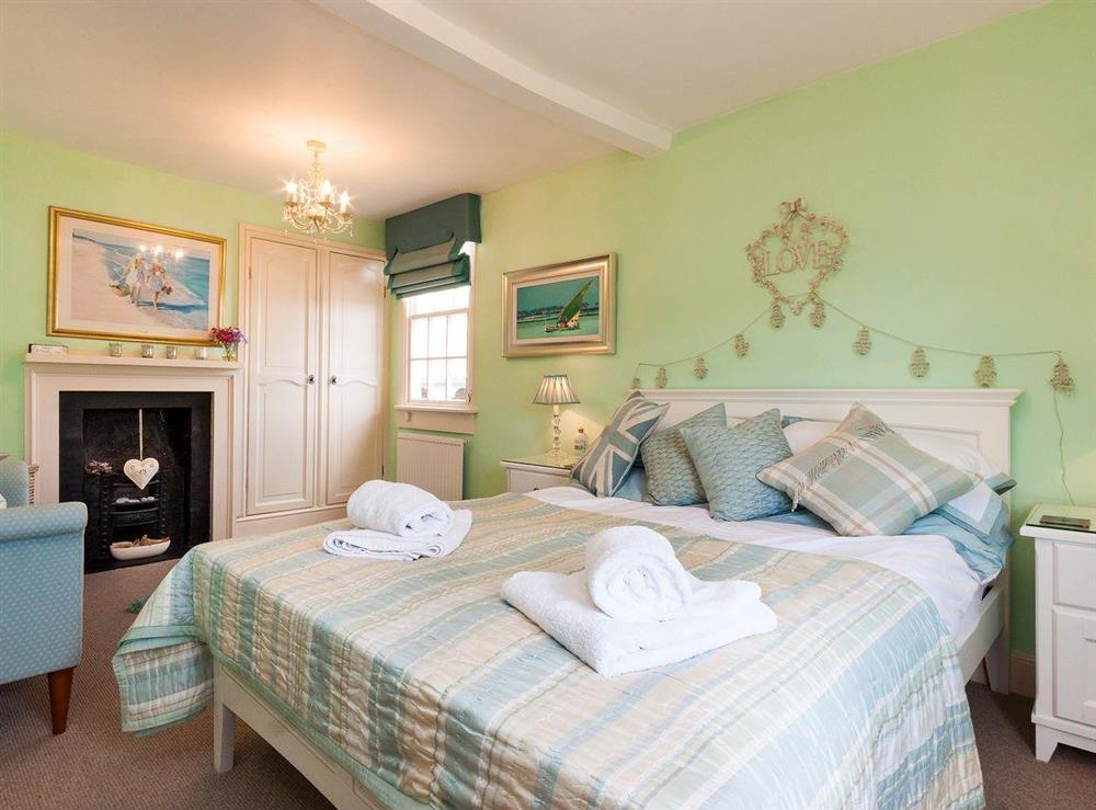 Double bedroom at At Last in Dartmouth, Devon
