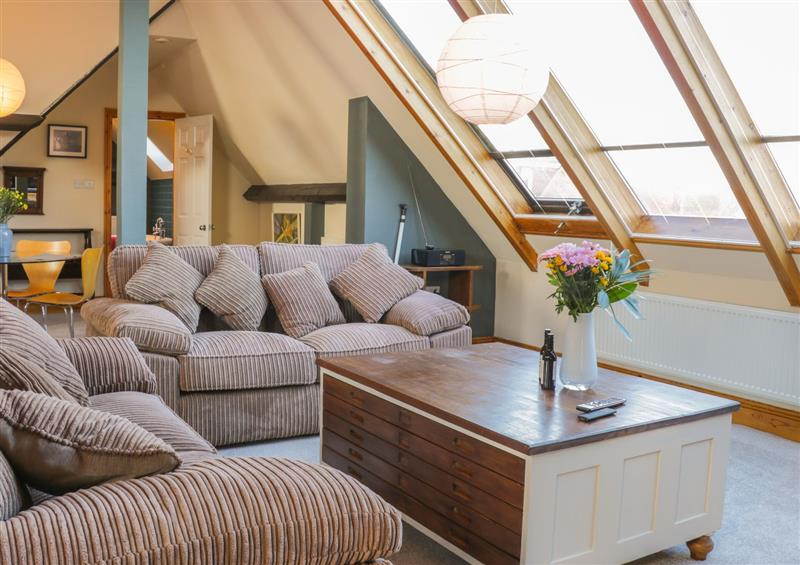 Enjoy the living room at Atelier, Bridlington