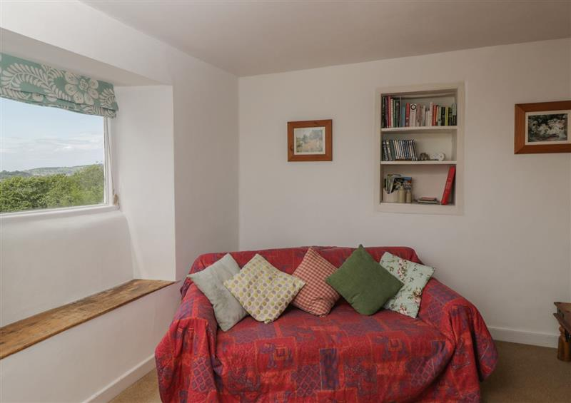 One of the bedrooms at Athelstan Cottage, Chloe Mead near Stroud