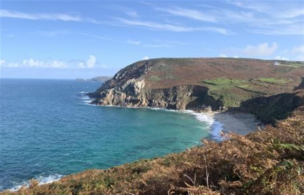 The spectacular Cornish coastline
