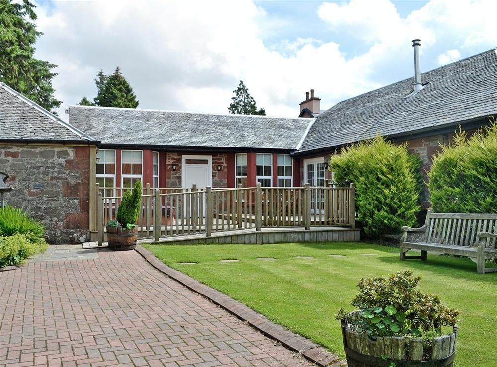 Exterior at Auchendennan Farm Cottage in Arden, Alexandria., Dumbartonshire