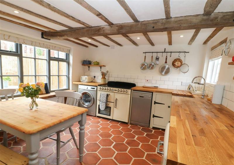 The kitchen at Auld Cottage, Norwell