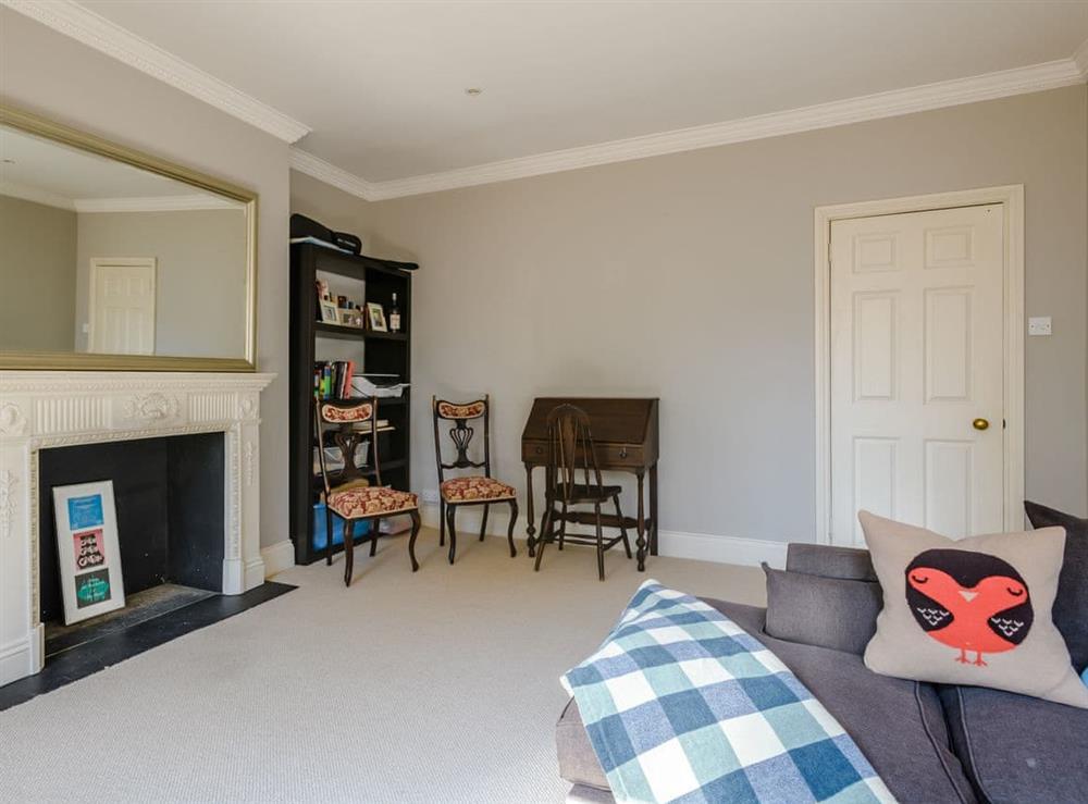 Living room at Aulton House in Kennington, London, England