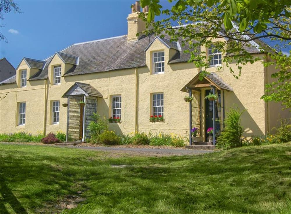 Exterior at Avenel Cottage in near Kelso, Roxburghshire