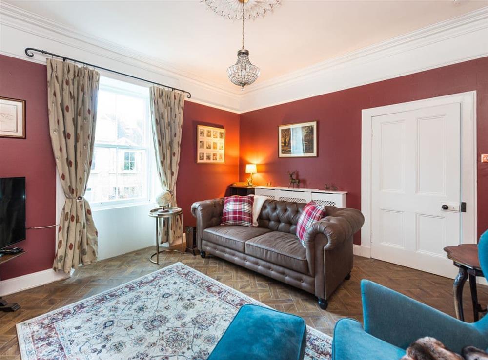 Living room at Avondale Place in Edinburgh, Midlothian