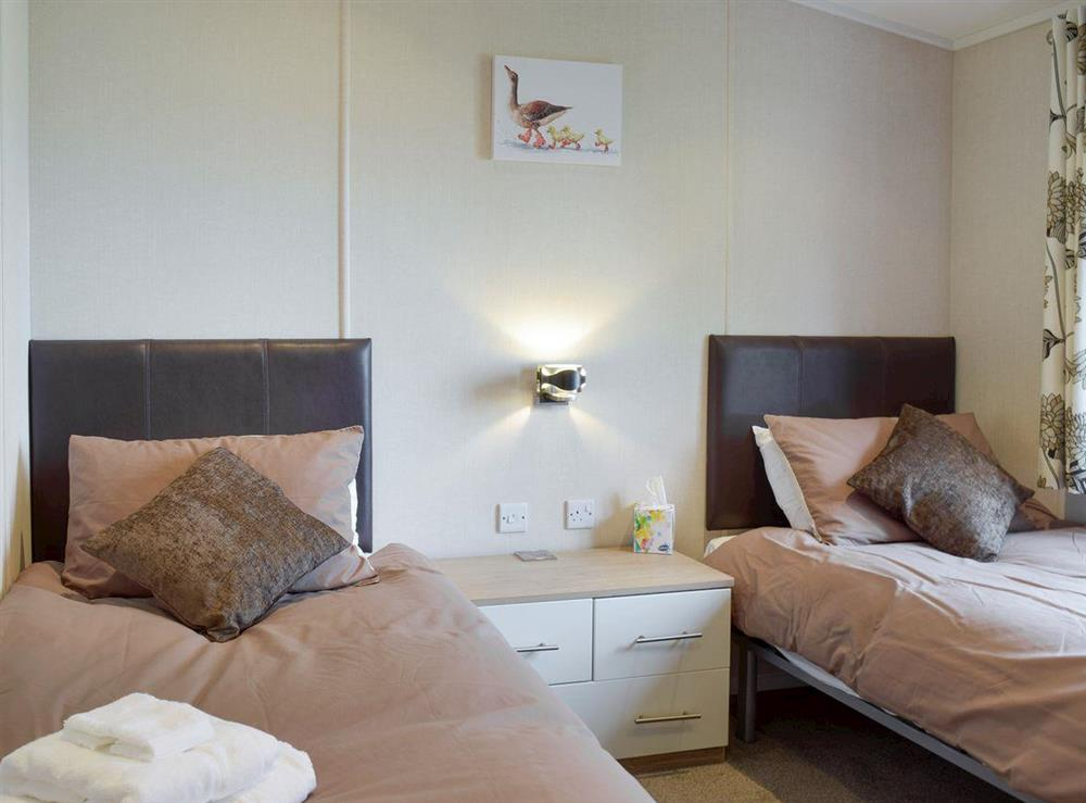 Good-sized twin bedroom at Azure View in Corton, near Lowestoft, Suffolk