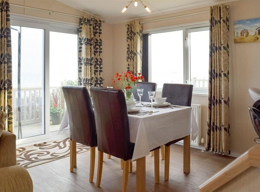 Spacious dining area at Azure View in Corton, near Lowestoft, Suffolk