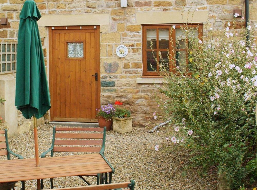 Charming holiday cottage at Badger Cottage in Scalby, near Scarborough, North Yorkshire