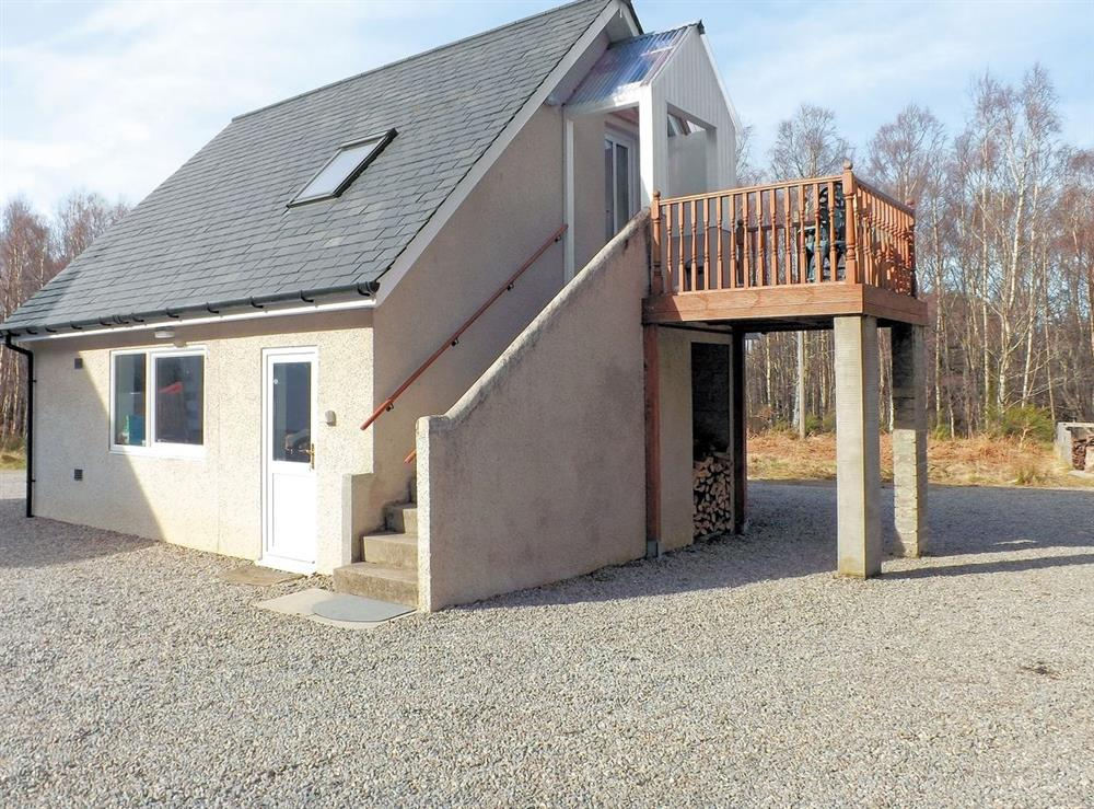 Exterior at Badgers Den in Kiltarlity, near Beauly, Inverness-Shire