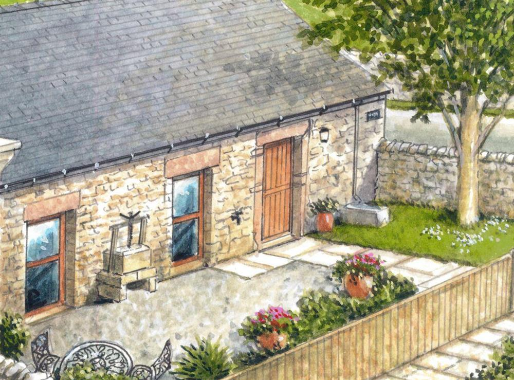Artist's Impression at Baileys Barn in Bonsall, near Matlock, Derbyshire
