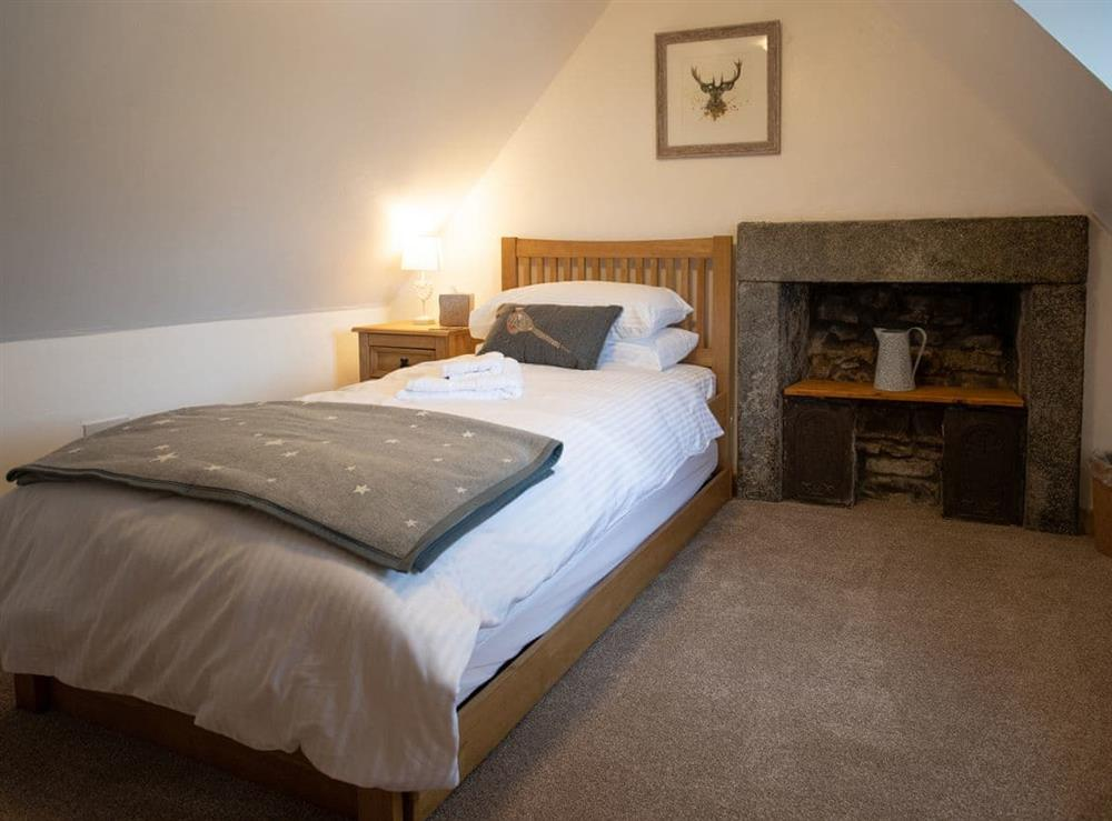 Comfortable first floor single bedroom at Balloan Farm Cottage in Lairg, Highlands, Sutherland