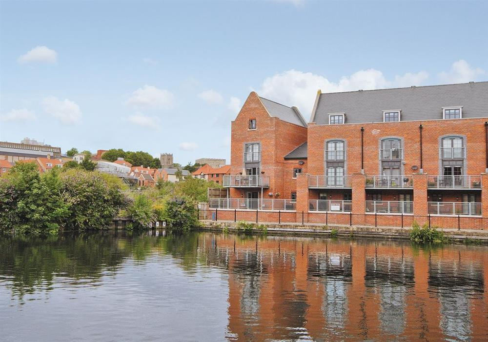 Exterior at Baltic Wharf in Norwich, Norfolk