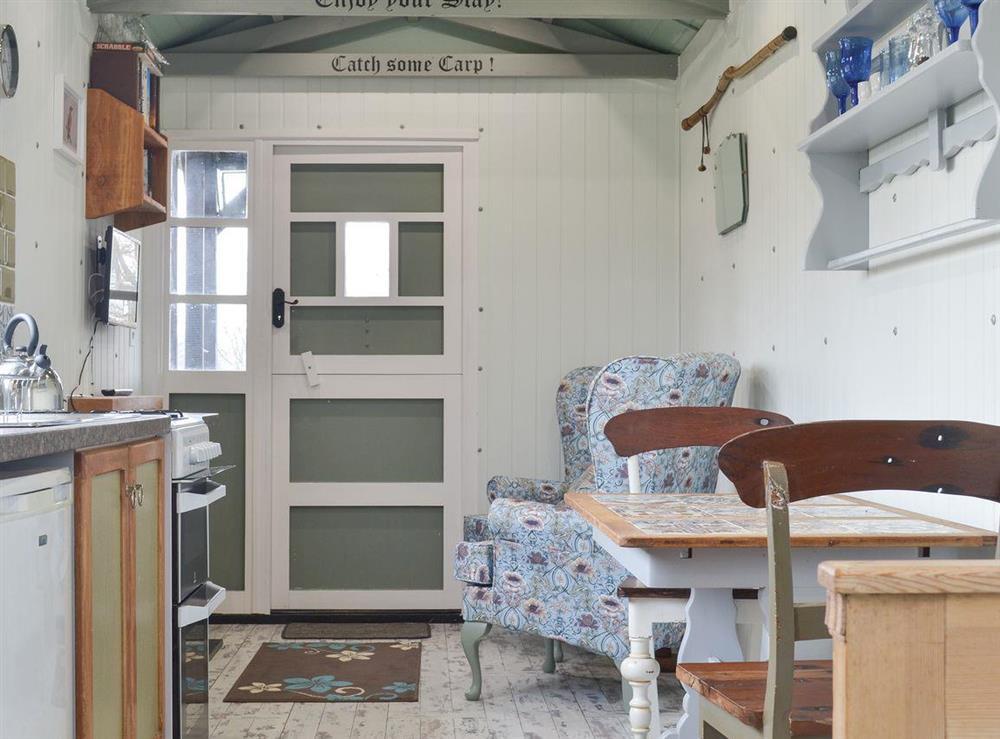 Living space at Bankside in Motcombe, near Gillingham, Dorset, England