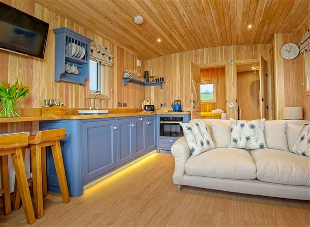 Attractive open plan living space at Little Oak,