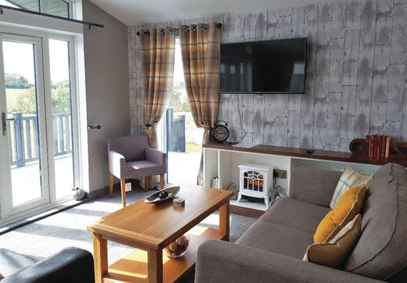 Inside the Barlings Retreat Lodge at Barlings Country Park in Langworth, Lincolnshire