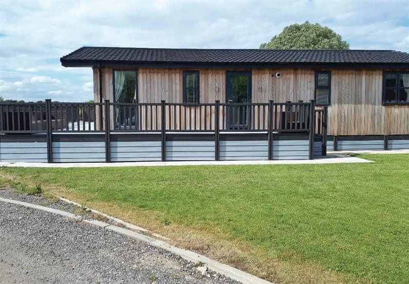 The Barlings Retreat Lodge at Barlings Country Park in Langworth, Lincolnshire