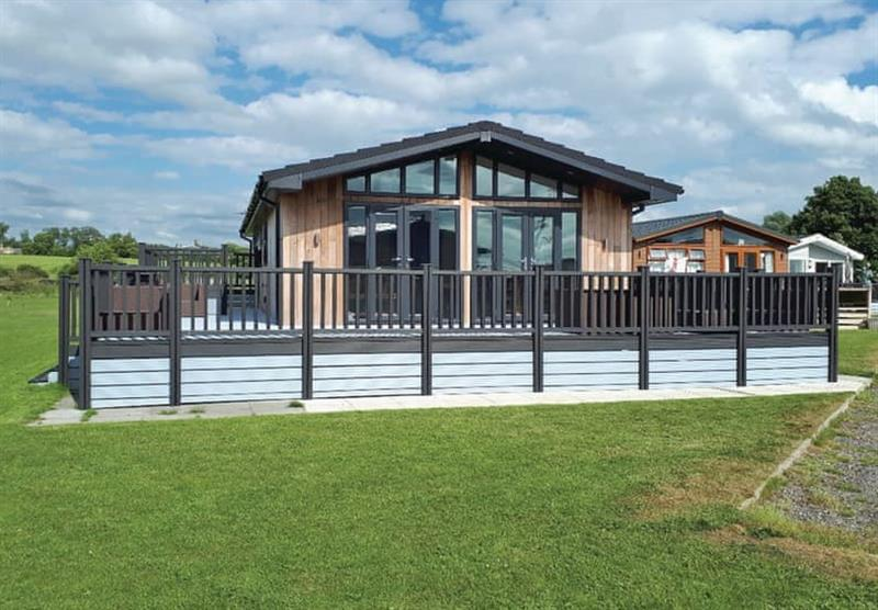 The setting of the Barlings Retreat Lodge at Barlings Country Park in Langworth, Lincolnshire