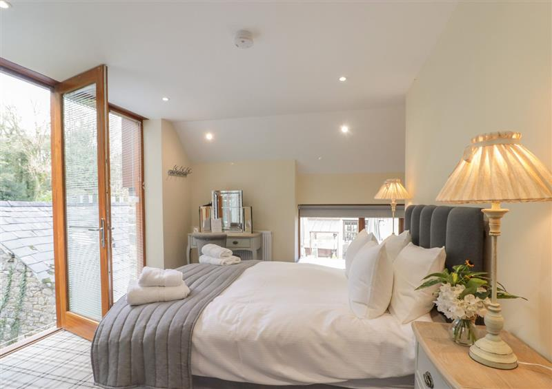 One of the bedrooms at Barn Apartment 4, Cardiff