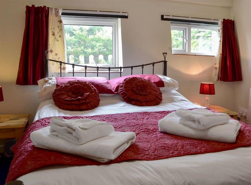 Comfortable double bedroom at Barn Owls,