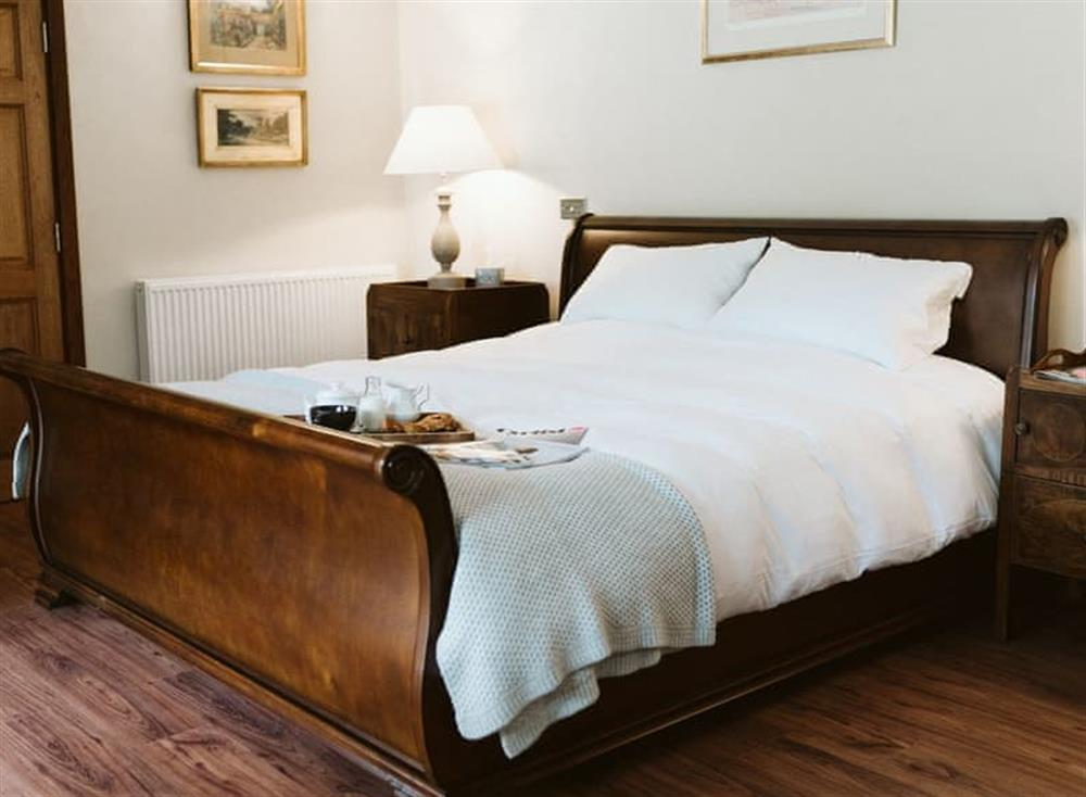 Double bedroom at Barnack Beauty in Houghton, Hampshire