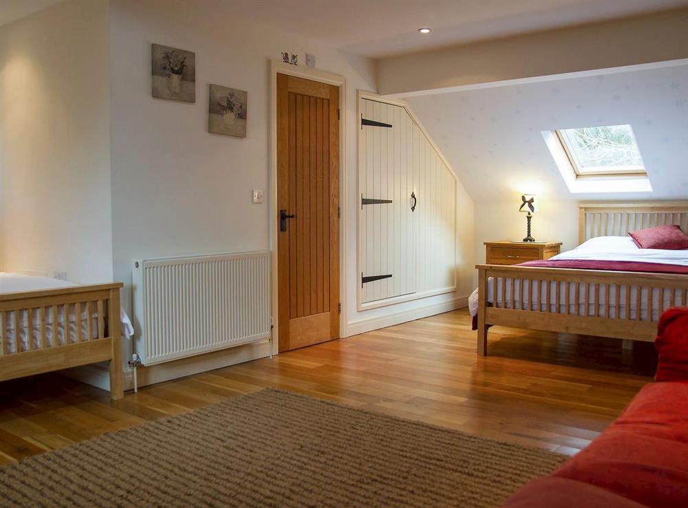 Additional bedroom at Woodpecker Cottage,