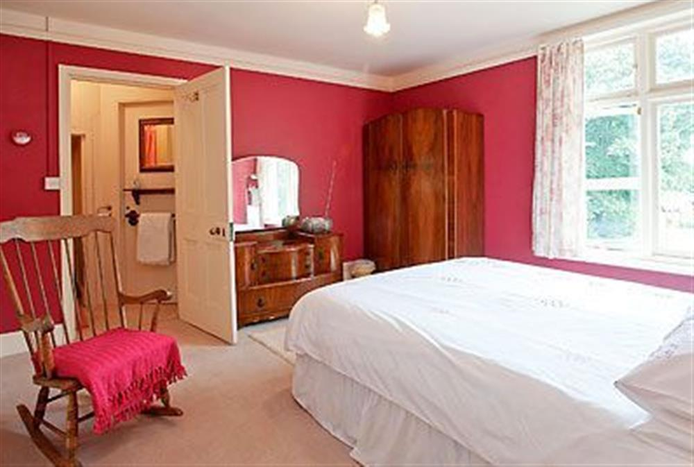 Double bedroom at Barton House in Wroxham, Norfolk., Great Britain