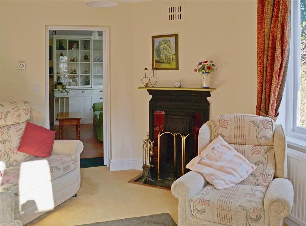Living room at Barton House in Wroxham, Norfolk., Great Britain