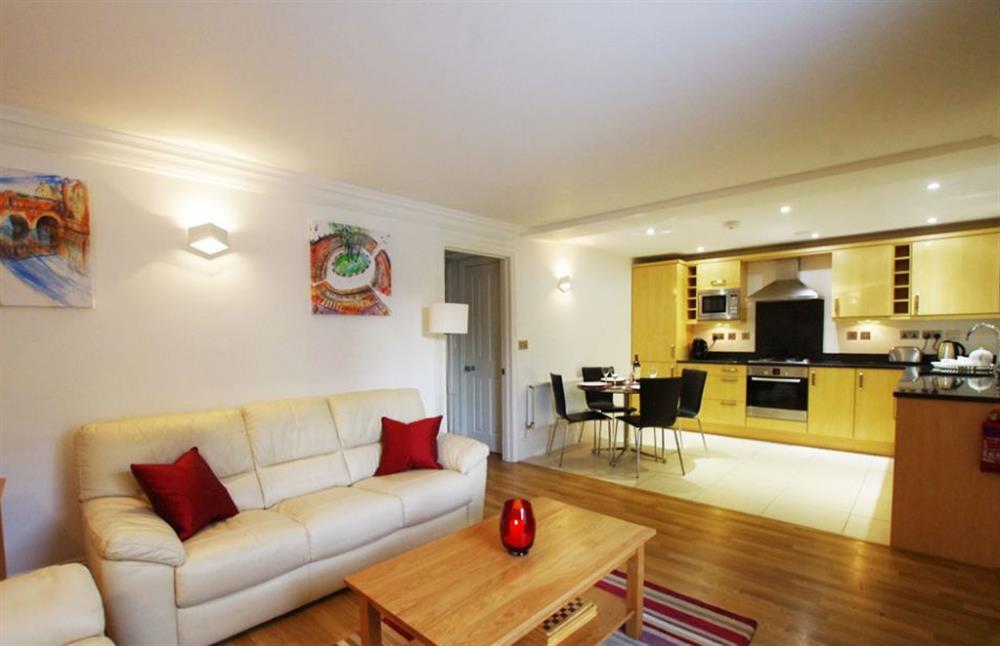 Living room at Bathwick Apartment, Bath, Somerset