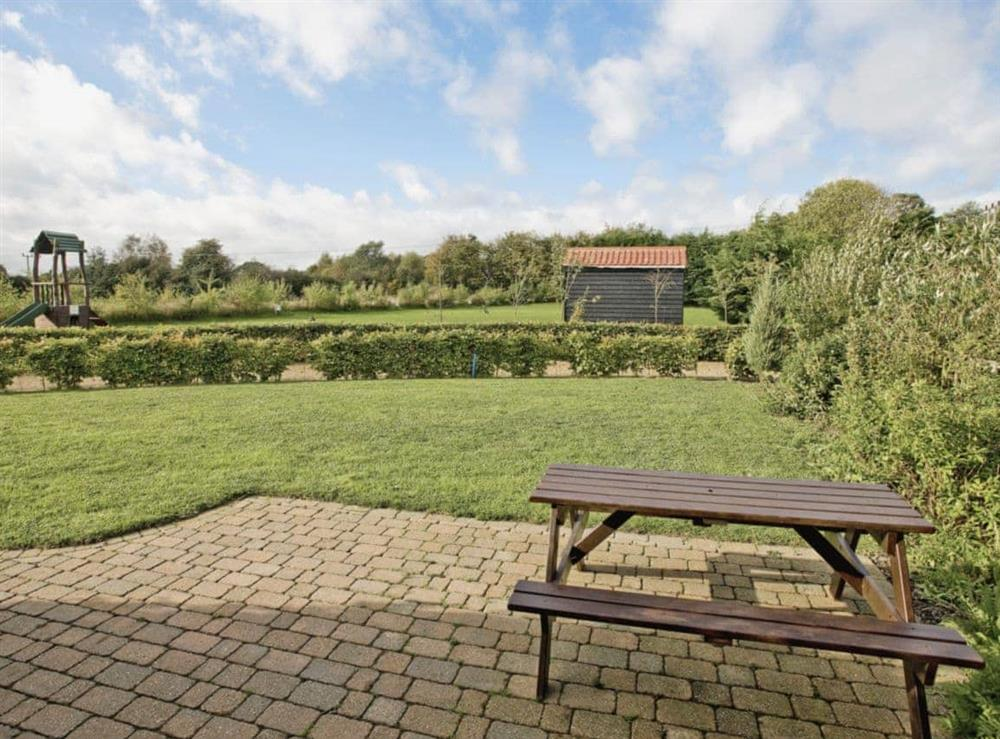 Garden and grounds at Bay in Great Yarmouth, Norfolk