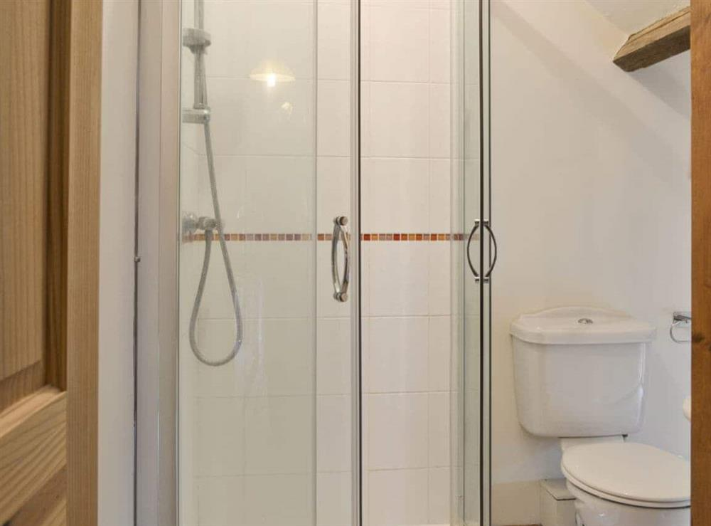 Shower room at Bay in Great Yarmouth, Norfolk
