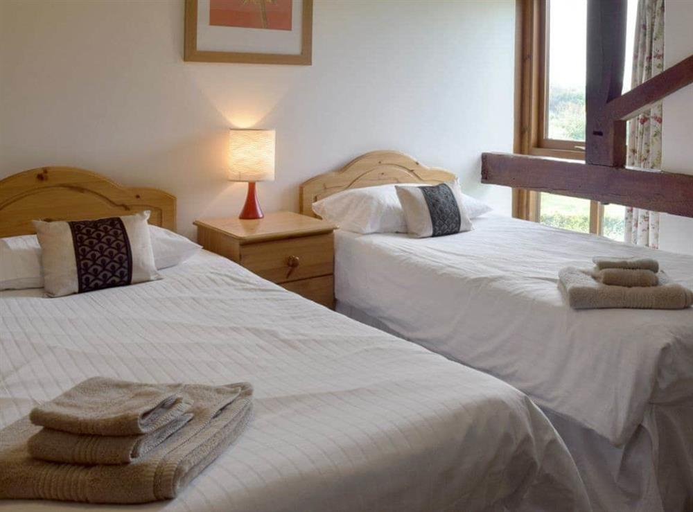 Twin bedroom at Bay in Great Yarmouth, Norfolk