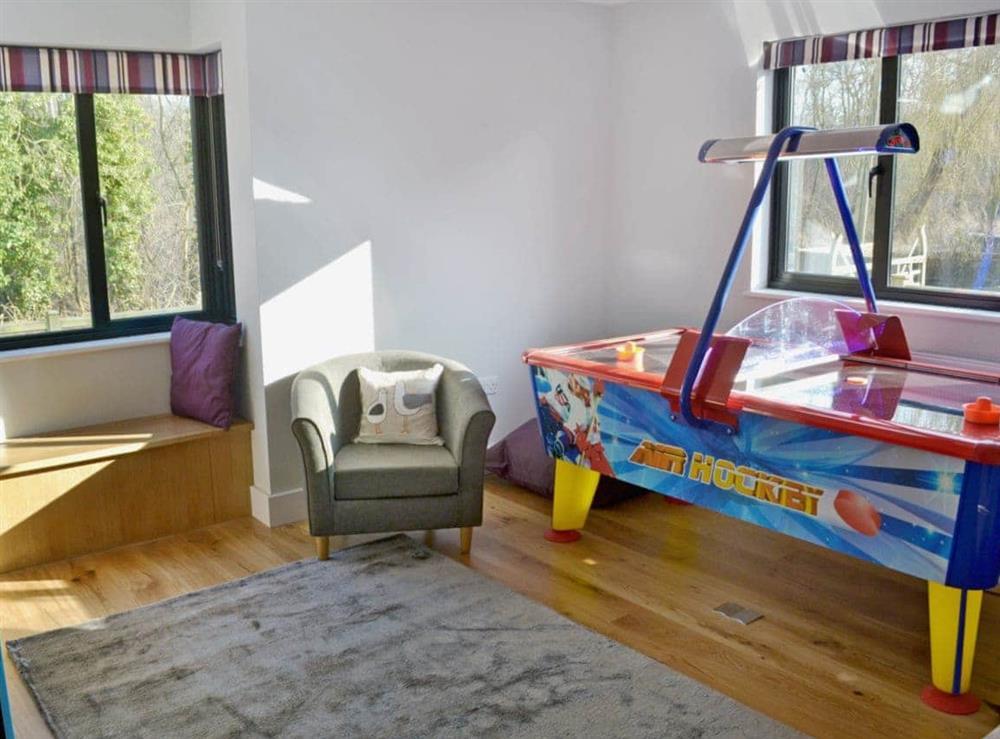 Games room at Bay Tree Lodge in Hoveton, near Wroxham, Norfolk