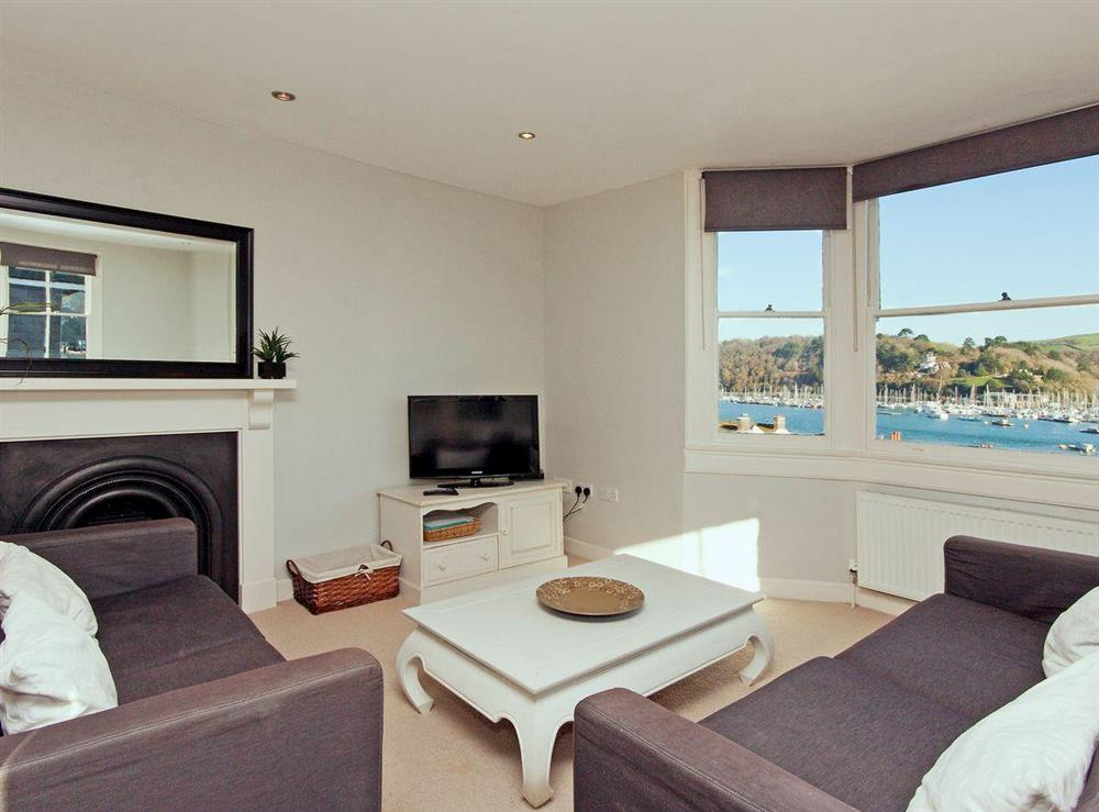 Comfortable living area with fantastic views to the sea at sleeps 5/6,